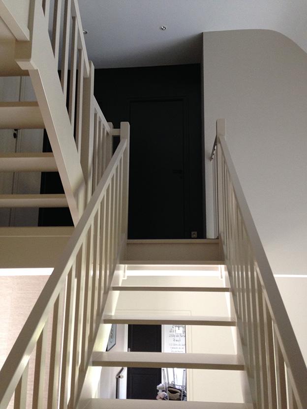 Peinture peintre mellet rennes for Quelle peinture pour un escalier en bois